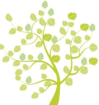 Little tree free vector graphic