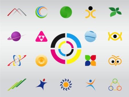 Logo Shapes vector