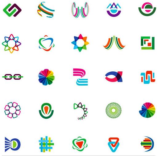 Logotypes graphic 2 creative vector