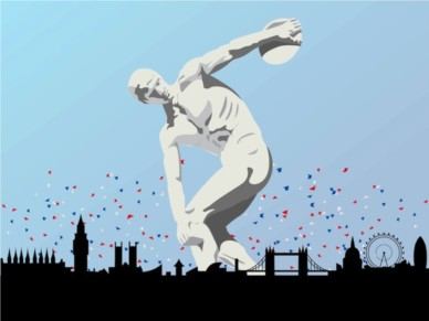 London Olympic Games vector