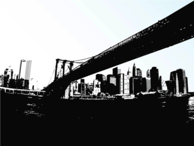 Long Bridge Vector vector