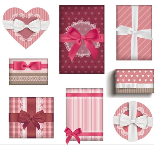 Love Gifts Objects vectors graphics