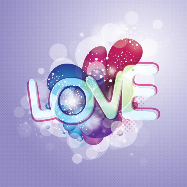 Love design vectors graphics