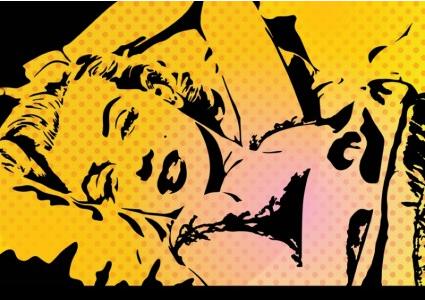 Marilyn Vector Illustration