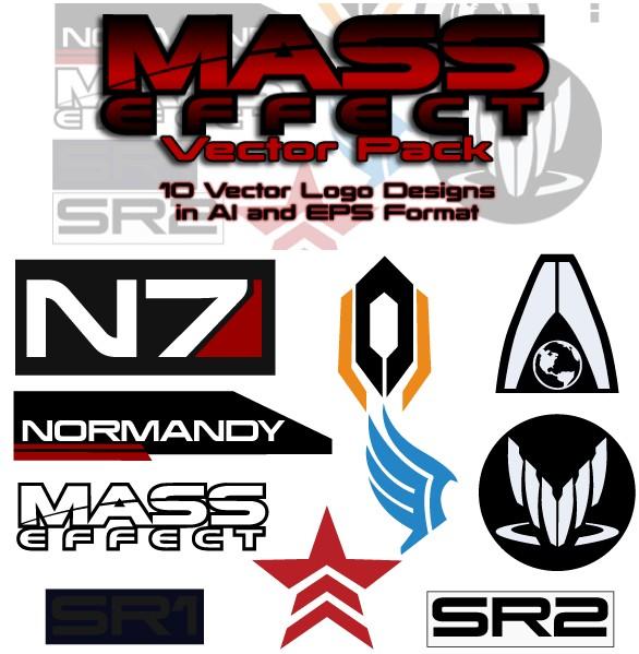 Mass Effect Free Pack vectors