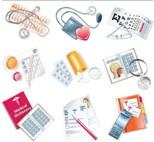 Medical Stuff vectors material