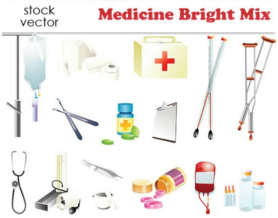 Medicine graphic vectors