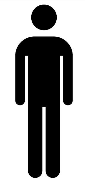Mens Room Symbol vector