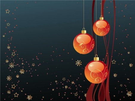 Merry Christmas Wallpaper vector