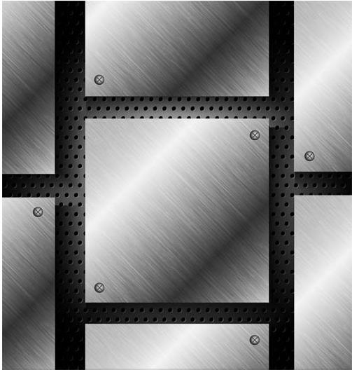 Metal Backgrounds Set 6 vector