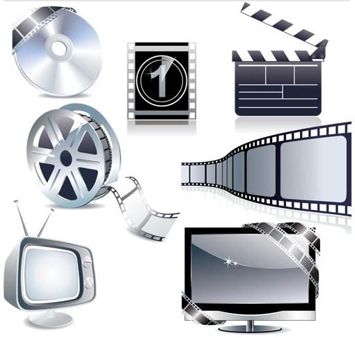 Modern CinemEquipment vectors material