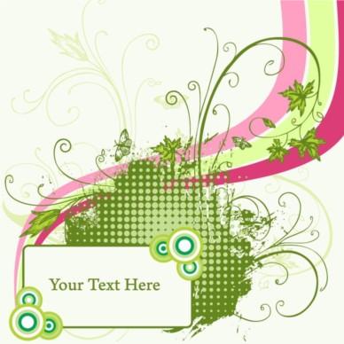 Modern Invitation Template vector