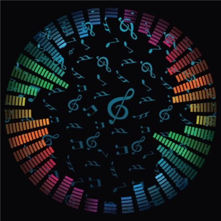 Music Notes Vector Background vector