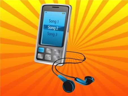 Music Phone vectors