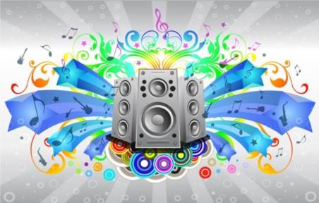 Music Sound System vectors