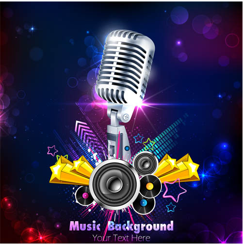 Music Style Backgrounds 37 creative vector