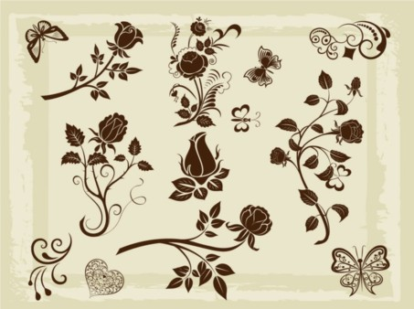 Nature Element Pack vector