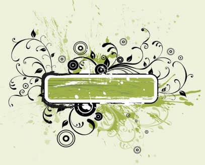 Nature Grunge Banner vector
