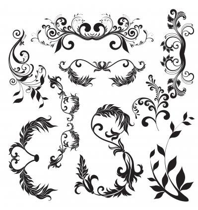 Nature elements 06 vector design