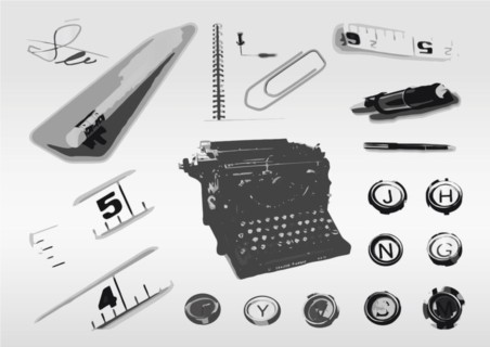 Office Clip Art vector graphics