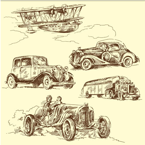 Old Transport free vector