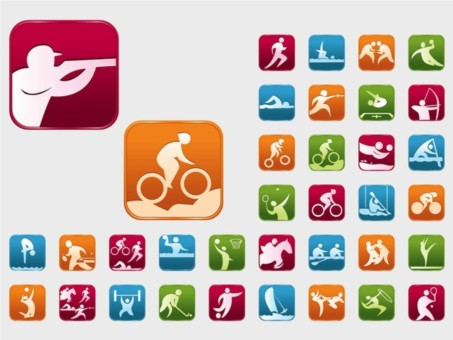 Olympic Sports vector design
