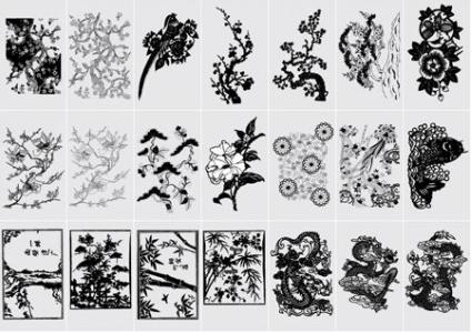 Oriental Elements vector