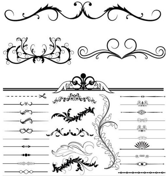 Ornament Borders vector
