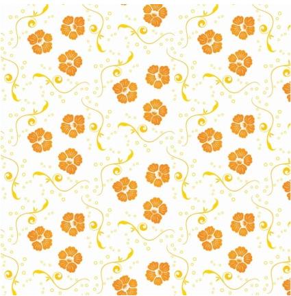 Ornamental Floral Pattern Free Vector vectors material