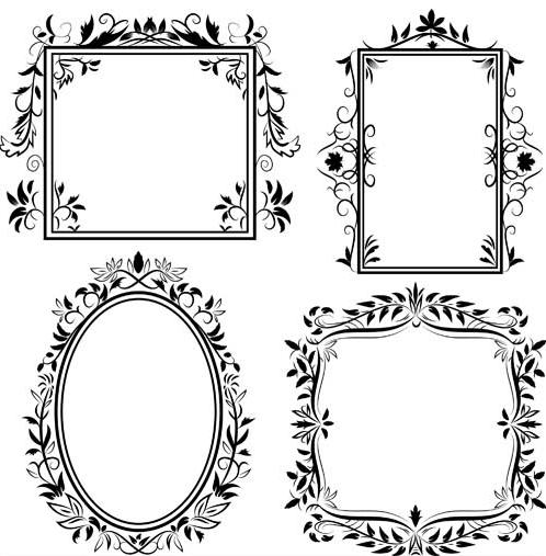 Ornamental Frames 5 design vectors