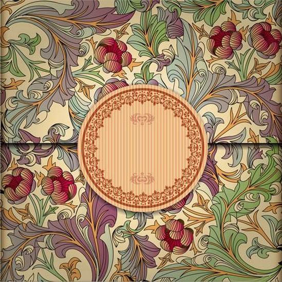 Ornaments Backgrounds vectors