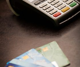POS and credit cards Stock Photo 12