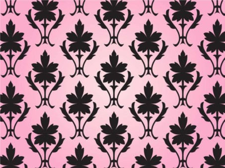 Pattern With Flowers vector