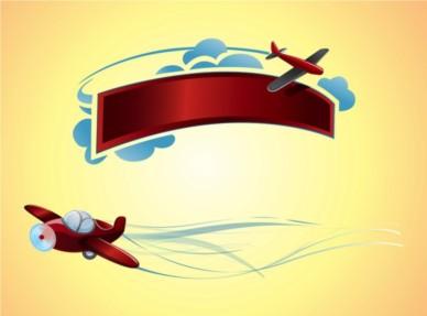 Plane Logos vector