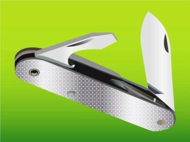 Pocket Knife vector set