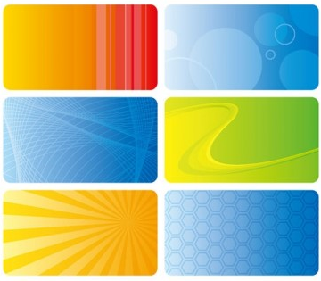 Practical card background 21 vector