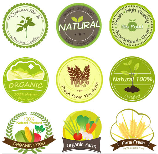Product Eco Labels vector