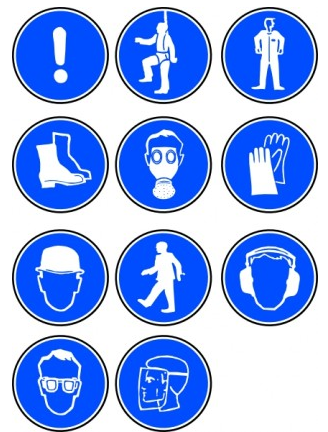 Protection Symbols clip art vector