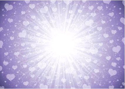 Purple Love Background vector