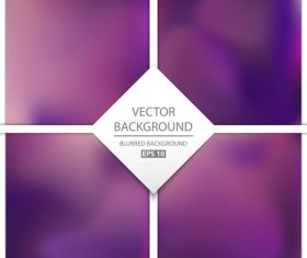 Purple blurred background art vectors graphic 03