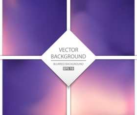 Purple blurred background art vectors graphic 04