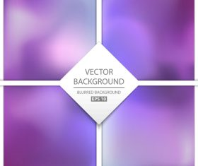 Purple blurred background art vectors graphic 05