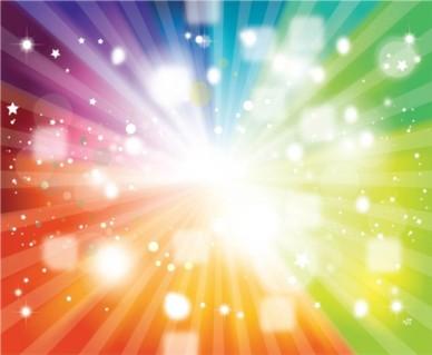 Rainbow Background Colors vector
