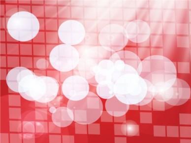 Red Grid Circles Backdrop set vector