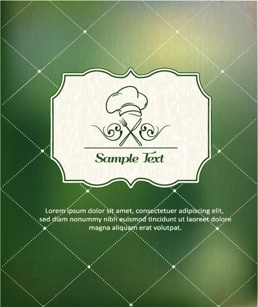 Restaurant Menu background 4 vector