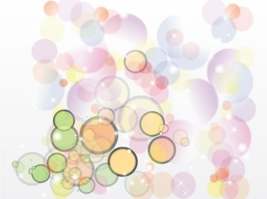 Retro Bubble Background vector