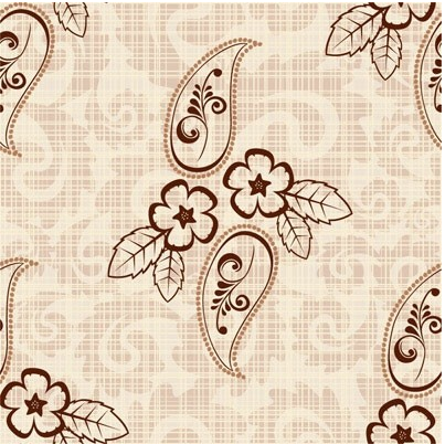 Retro pattern background 1 vector