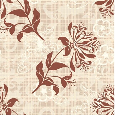 Retro pattern background 3 vector