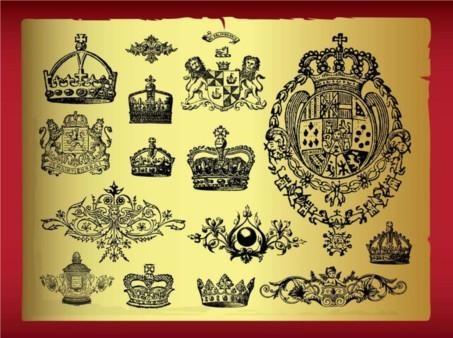 Royal Designs vectors