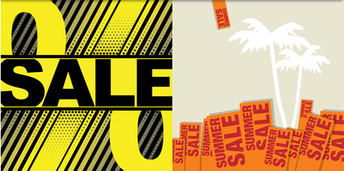Sale Backgrounds 2 vector